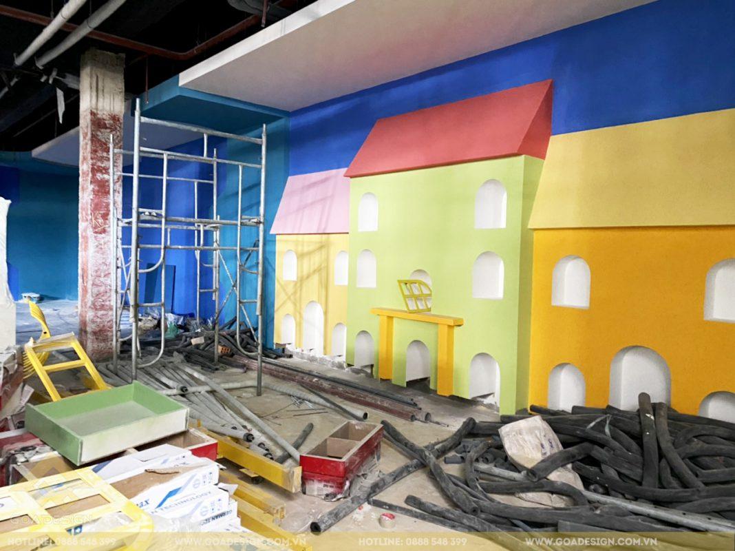Công trình khu vui chơi trẻ em tại Bình Định do GOADESIGN thiết kế và thi công trọn gói đã đi vào hoạt động. Với thiết kế không gian chơi sáng tạo, lạ mắt, mang lại cho các bé một sân chơi lành mạnh và ấn tượng tượng nhất.